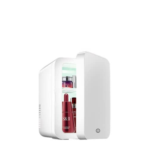 Mxsnow Mini Refrigerador Portátil Belleza Maquillaje Cuidado De La Piel Refrigerador Refrigerador Cosmético Compacto Snjiaheim Es Adecuado para Dormitorio-8L-A