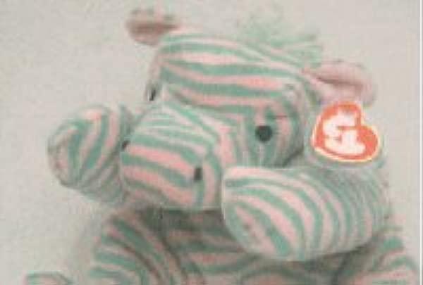 TY Pillow Pal ZULU The Zebra