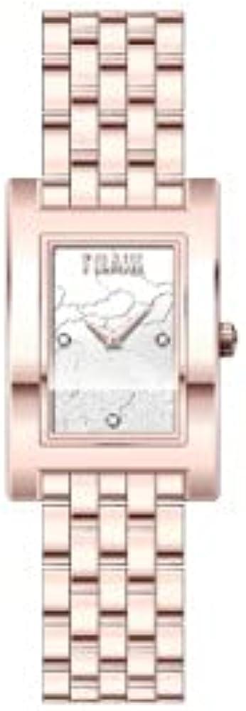 Alviero martini, orologio panarea  donna,  in acciaio inossidabile 316l con trattamento in pvd oro rosa 1671322