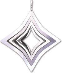 Spirit of Air Jardin en acier inoxydable Spinner Diamant