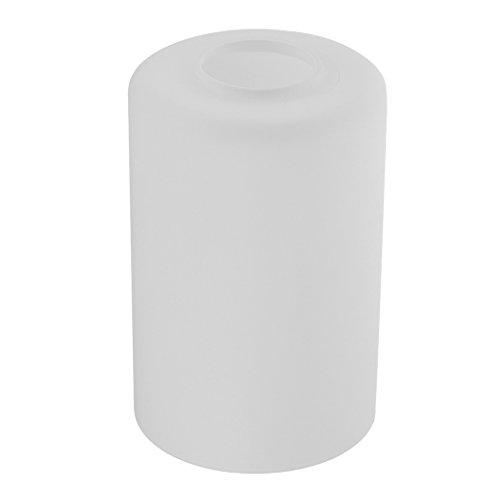 Homyl Zylindrischer Lampenschirm für Wandlampe Hängeleuchte Deckenleuchte Pendelleuchte, weiß - Dia. 10 cm
