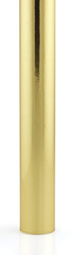 Hygloss Products Metallic Foil Paper – Premium Gift Wrap Roll – 26 Inch x 25 Feet, Gold
