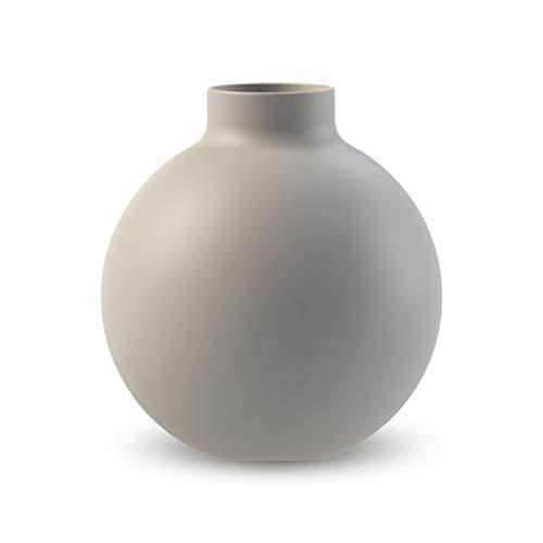 Cooee Design Vase, Keramik, Grau, 12 cm