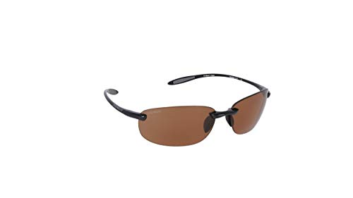 Serengeti Eyewear Sonnenbrille Nuvino, Shiny Black, M, 7317