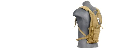 Lancer Tactical Light Weight Hydration Backpack (Tan)