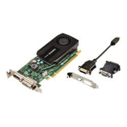 PNY Quadro K600 Kepler - 1 GB DDR3 PCI Grafikkarte D-Sub DVI-D - low profile