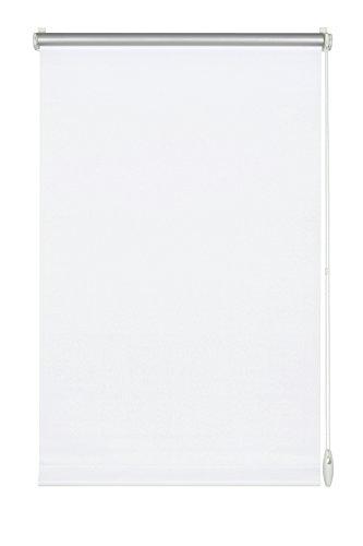 GARDINIA Thermo-Rollo mit Thermo-Rückseite zum Klemmen oder Kleben, Höchste Lichtreflektion, Energiesparend, Lichtundurchlässig, Alle Montage-Teile inklusive, EASYFIX Rollo Thermo, Weiß, 60 x 150 cm (BxH)