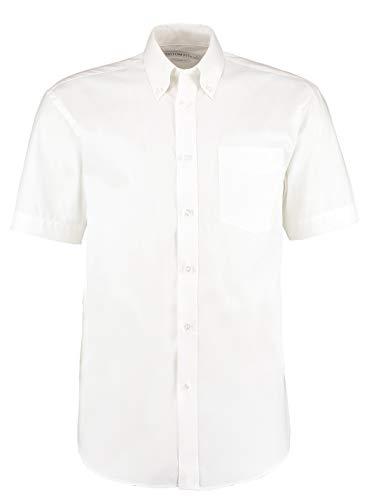 Kustom Kit chemise Oxford entreprise à manches courtes Blanc 22