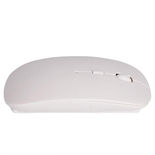 THQC Wireless Mouse New 2.4G USB Optical Wireless Computer Mouse 3-Levels Adjustable 1600 DPI Ultra Slim Mouses For PC Laptop Desktop (Color : White)