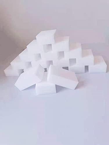 N/X Esponjas Mágicas 30pcs Que Limpian La Esponja Multifuncional para Quitar Las Manchas y Las Marcas Difíciles para La Cocina del Coche 9x6x3cm
