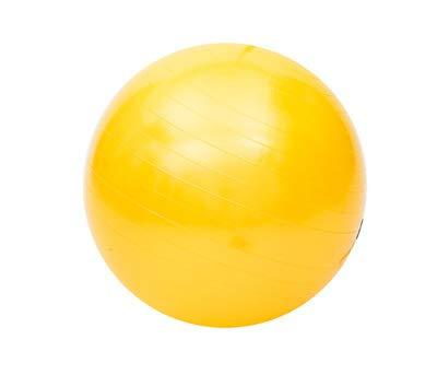Glänzender Yoga-Ball für Fitness, glatter Yoga-Ball in 7 Farben erhältlich, gelb