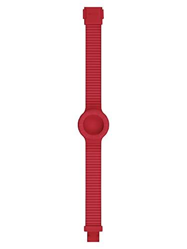 Orologio HIP HOP DONNA HERO 32 quadrante MONO-COLORE ALTRO e CINTURINO SILICONE ROSSO HBU0878