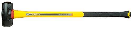 Stanley FatMax Vibrationsarmer Vorschlaghammer (4536 g Kopfgewicht, 900 mm Länge, Fiberglasgriff) FMHT1-56019