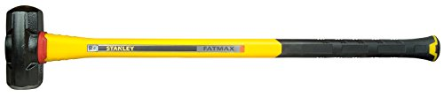 Stanley FatMax Vibrationsarmer Vorschlaghammer (4536 g Kopfgewicht, 900 mm Länge, Fiberglasgriff)...