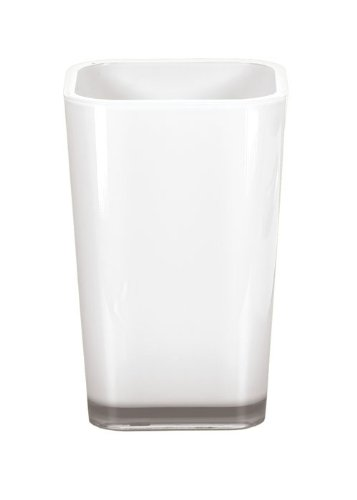 Kleine Wolke 5061114852 Easy Gobelet à Dents Plastique Blanc 40 x 30 x 10 cm