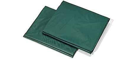 Cubierta para mesas de billar, con goma elástica.
