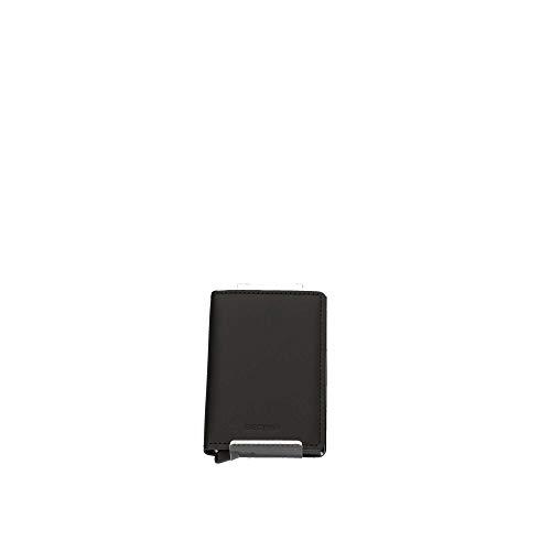 Secrid Matte Slimwallet Börse mit RFID Schutz 6.8 cm Black