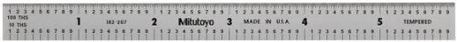 Mitutoyo 182-207, Steel Rule, 6