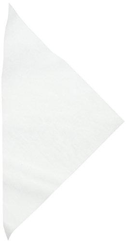 Cake Company Pergament-Dreiecke, Kunststoff, Weiß, 48 x 0.1 x 28 cm, 50-Einheiten