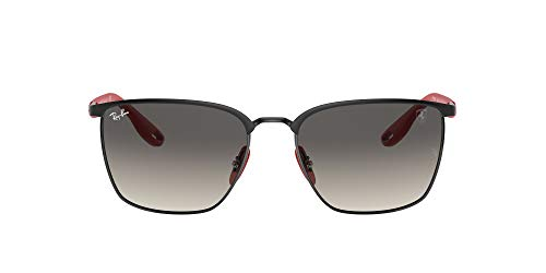 Ray-Ban 0RB3673M Gafas, MATTE BLACK, 56 Unisex