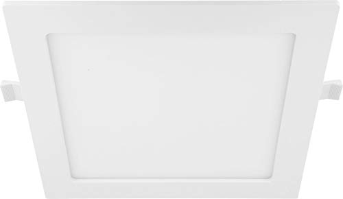 LED CCT Slim Einbauleuchte 6in1 24W IP44 eckig - 3000K 4000K 6000K - Trafo integriert - 220x30mm flach