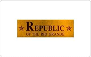 Republic of the Rio Grande Gift Certificate