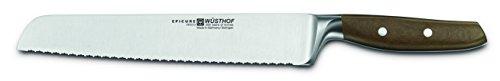 Wüsthof Brotmesser 23 cm, Epicure (3950), sehr scharfe Klinge, geschmiedet, rostfreier Edelstahl, hochwertiges Küchenmesser