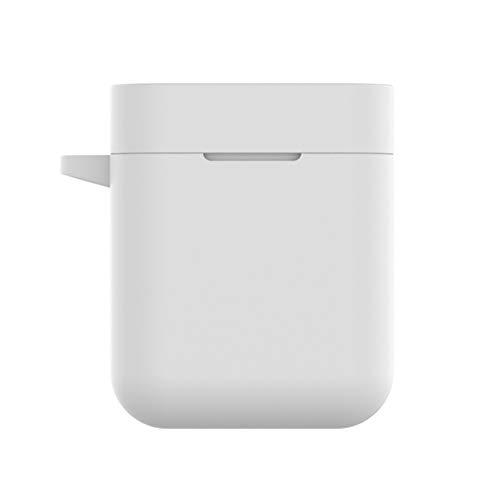 GLASSNOBLE Soporte Remoto, Funda Protectora de Silicona Suave, Caja de Carga, Caja para Airdots Pro TWS, Blanco