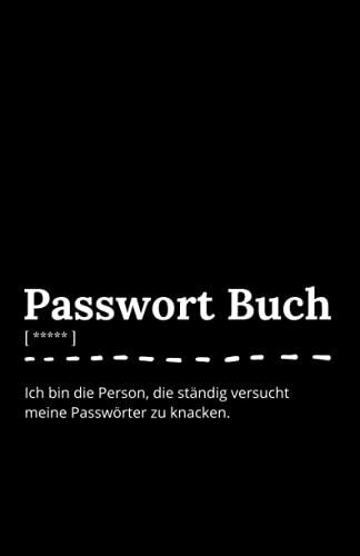Passwort Buch mit Register: Notizbuch als Passwort Manager und Organizer für deine Zugangsdaten