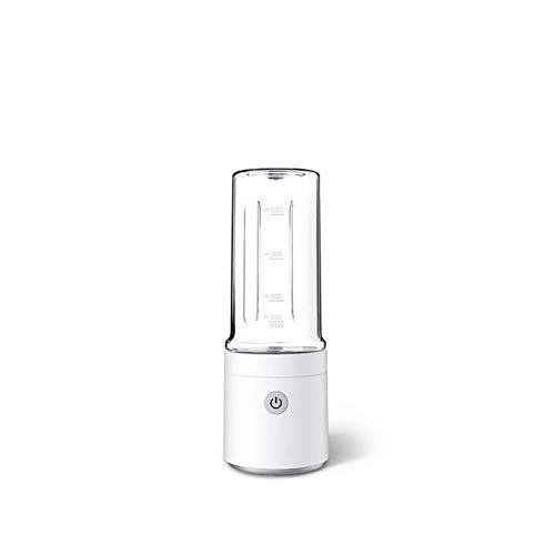 Exprimidor rápido, eléctrico mezclador de cocina, Robot de cocina portátil utiliza rápido Exprimidor de corriente for cargar, taza de jugo de frutas caseras (Color: Blanco) xuwuhz ( Color : White )