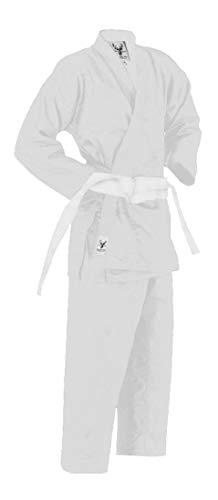 Hanni-Fashion Karateanzug Kampfsportanzug für Kinder und Erwachsene (130)