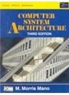 Computer System Architecture (third edition (low price edition))