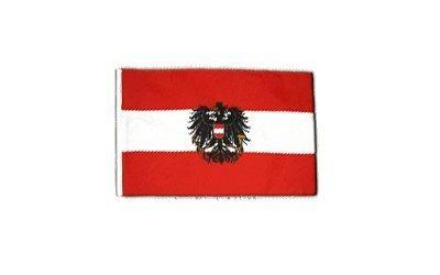 Fahne Flagge Österreich mit Adler 30 x45 cm by Flaggenfritze