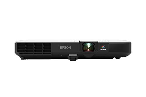 Epson PowerLite 1780W WXGA, 3,000 lumens Color Brightness (Color Light Output), 3,000 lumens White Brightness Wireless 3LCD Portable Projector (Renewed)