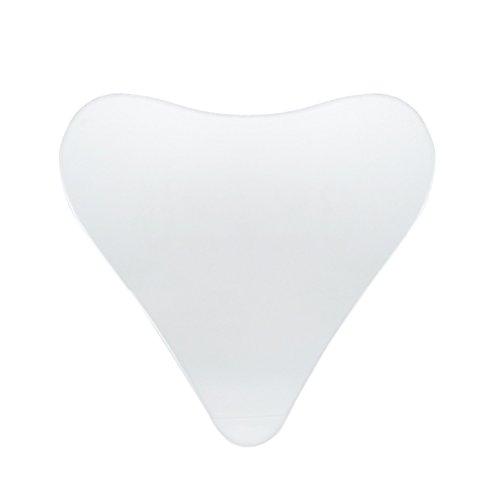 Healifty Anti Falten Silikon Dekolleté selbstklebende Pads für ein faltenfreies Dekolleté und ein verbessertes Hautbild (Transparent)