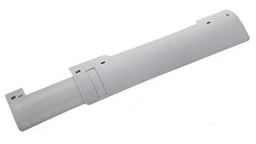 Plus Nao(プラスナオ) エアコン風よけ 風よけカバー ウィンドケア 伸縮性 長さ調整 可変式 エアコン用品 エアコングッズ アイデアグッズ 取 - グレー