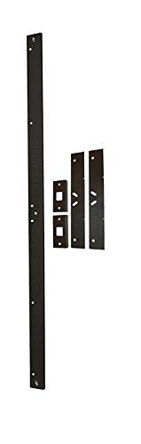 Door Armor MAX – Complete Door Reinforcement Set For Jamb, Frame, Strike Plate — DIY Home Door Security – Aged Bronze