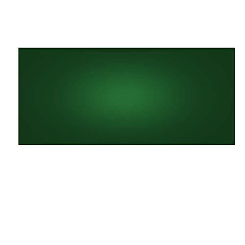 YZYZYZ Pizarra de borrado en seco para Nevera, Pizarra Blanca magnética Peque?a, Hoja Resistente a Las Manchas Durante Mucho Tiempo para planificar y organizar, Verde, 45x100cm