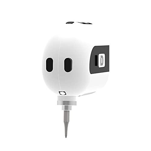 N\C Mini cacciavite Elettrico Intelligente con Caricatore Micro USB e Luce a LED, impostazione precisa degli Ingranaggi, Strumenti di Riparazione per telefoni cellulari, Laptop, Occhiali e Orologi