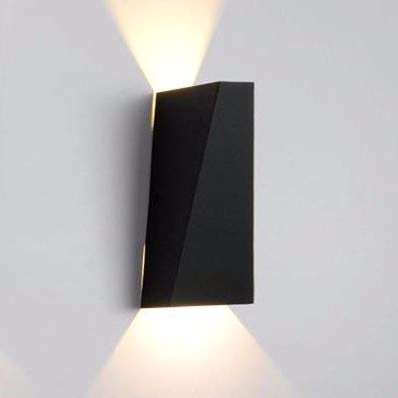 FuweiEncore Eine einfache Passage der Treppen Korridor Lounge auf dem Wasser frei, Aluminium Wand Lampen Hall Ktv Kopf ist klar, ich (Farbe   E)