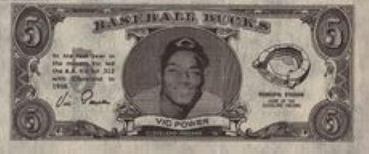 vic power baseball card