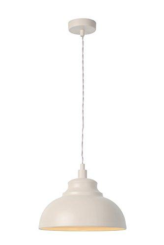 Lucide Isla–Lampade a sospensione–Ø 29cm–Taupe, Metallo, crema, E14 40 wattsW 230 voltsV