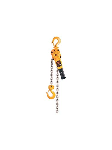 Harrington LB020-10 Lever Hoist, 4000 pounds Load Capacity, 7inches Height, 15inches Width, 6inches Length,