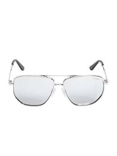 Sunglasses Guess GU 7635 08B shiny gumetal/gradient smoke