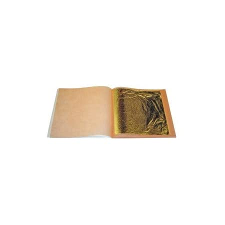 Blattgold 70 x 70 mm 500 Stuck goldleaf 24 Karat