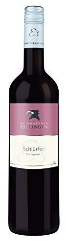 """Württemberger Wein Esslinger Schenkenberg """"SCHLÜRFER"""" Portugieser QW halbtrocken (1 x 0.75 l)"""
