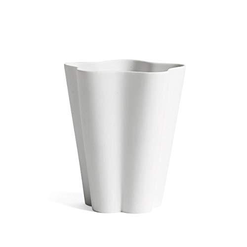 Iris Vase Small Hay-Off white