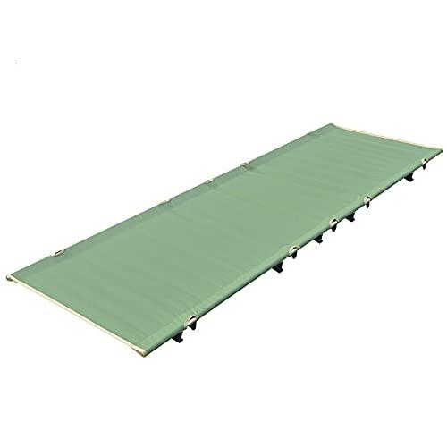 KUAQI Cama de Camping Plegable, Caja Plegable de Adultos Ajustables, Sillones de Patio al Aire Libre para afuera, Piscina, Playa, Patio