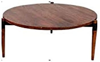 Hawthorne Collections Santiago Contemporary Solid Wood Coffee Table