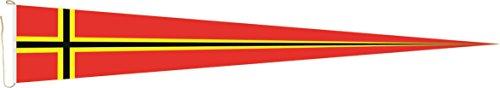 Haute Qualité pour U24 Long Fanion Drapeau Allemand Résistance 300 x 40 cm